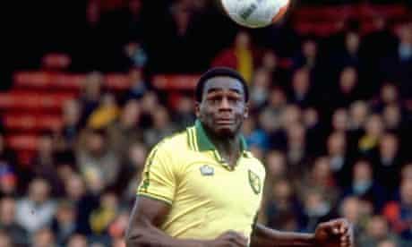 The late Justin Fashanu of Norwich City