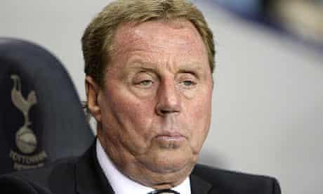 The Tottenham manager, Harry Redknapp
