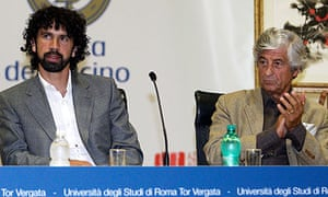 Damiano Tommasi and Gianni Rivera