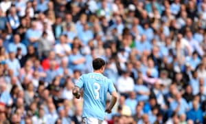Manchester City's Wayne Bridge in action in front of a crowd