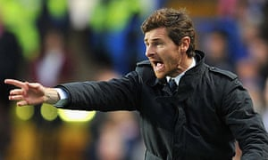 Andre Villas-Boas, the Chelsea manager