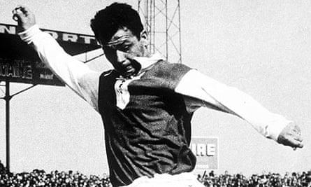 France s Just Fontaine in action
