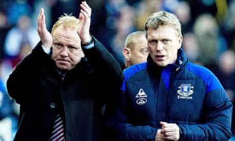 David Moyes the Everton manager
