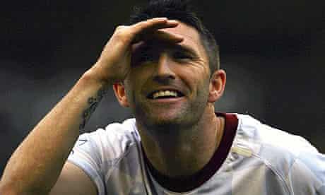 Aston Villa's Robbie Keane