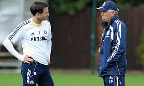 Frank Lampard and Carlo Ancelotti