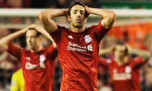 Jose Enrique laments another near miss againat Norwich