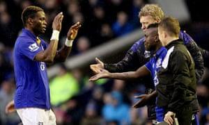 Everton's Louis Saha
