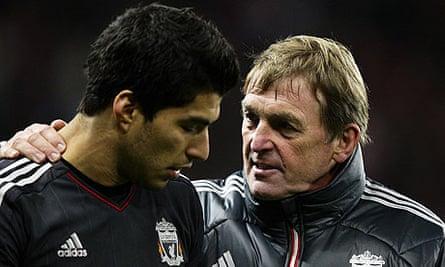 Luis Suarez and Kenny Dalglish