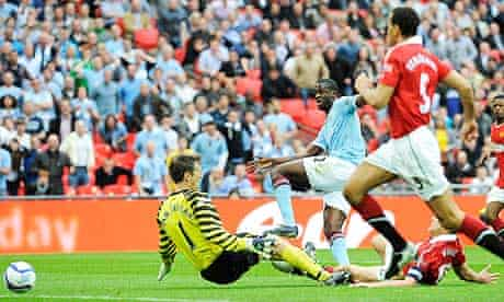 Manchester City's Yaya Touré scored the winner against United in last season's FA Cup semi-final