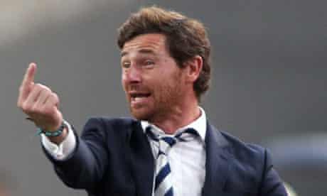 André Villas-Boas of Tottenham