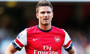 Arsenal are hoping that new players such as Olivier Giroud can fill in