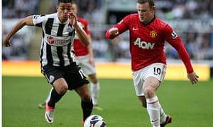 Hatem Ben Arfa Wayne Rooney