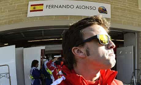 Fernando Alonso from Ferrari
