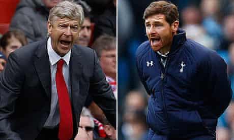 Arsene Wenger and Andre Villas-Boas