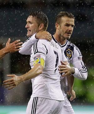 David Beckham: Robbie Keane, David Beckham