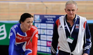 Dr Steve Peters with Victoria Pendleton