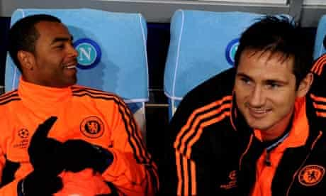 Ashley Cole and Frank Lampard