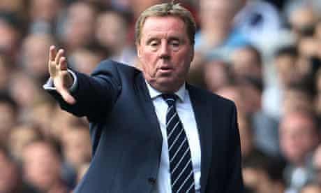 Harry Redknapp, new QPR manager