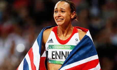 Jessica Ennis close to tears