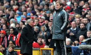 Kenny Dalglish and Sir Alex Ferguson