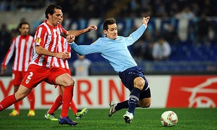 Miroslav Klose Lazio Atlético Madrid