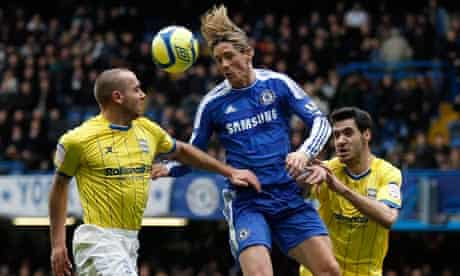 Chelsea's Fernando Torres in FA Cup action