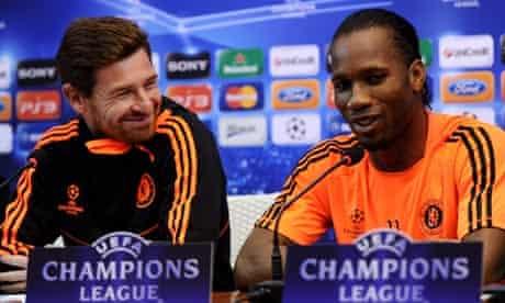 André Villas-Boas and Didier Drogba