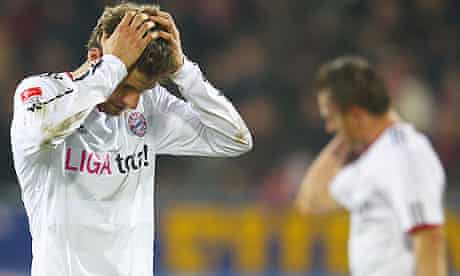 Frustration for Bayern after the draw with Freiburg