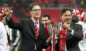 John W Henry Tom Werner Liverpool Cardiff Carling Cup final