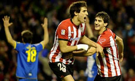 Joy for Athletic Bilbao during their 3-3 draw with Espanyol