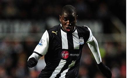 Demba Ba Newcastle United