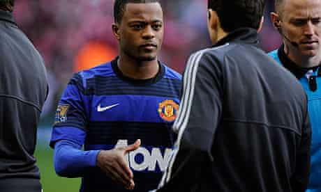 Patrice Evra Manchester United Liverpool