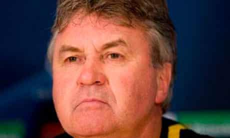 Guss Hiddink, coach of Chelsea