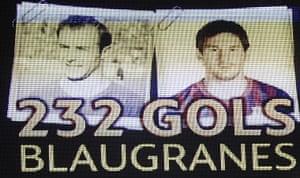 Lionel Messi record: FC Barcelona v Granada CF - La Liga