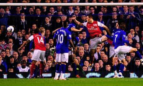 Thomas Vermaelen Everton Arsenal