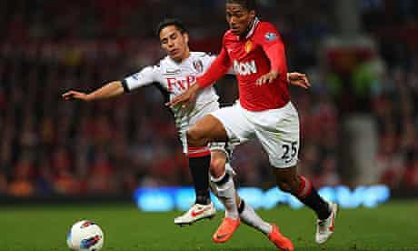 Antonio Valencia Manchester United Fulham