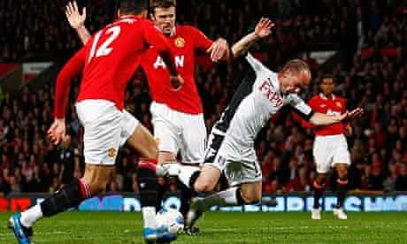Michael Carrick Danny Murphy Manchester United Fulham