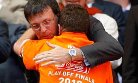 Karl Oyston, Blackpool chairman