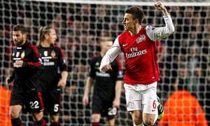 Arsenal v Milan