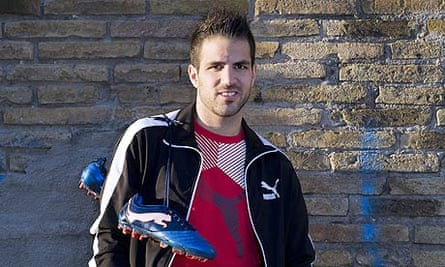 Cesc Fábregas of Barcelona