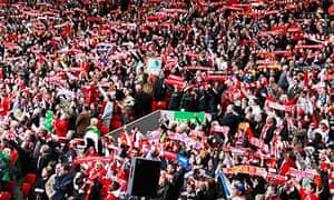 The Anfield service on the 20th anniversary of the Hillsborough disaster