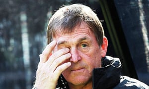 Kenny Dalglish the Liverpool manager