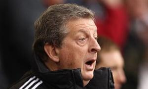 Roy Hodgson of West Bromwich Albion