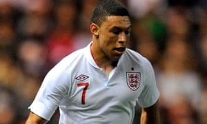 Alex Oxlade-Chamberlain of Arsenal and England