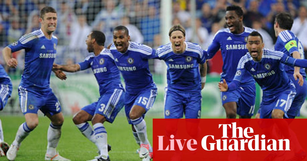 Champions League Final Bayern Munich V Chelsea As It Happened Rob Smyth Football The Guardian