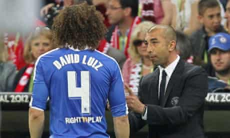 Roberto Di Matteo and David Luiz