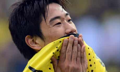 Shinji Kagawa of Borussia Dortmund