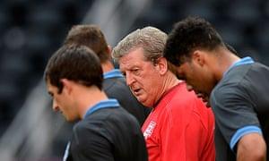 England's head coach Roy Hodgson
