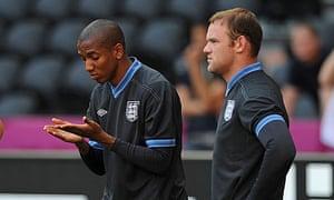 Ashley Young Wayne Rooney England