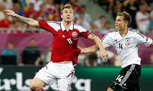 Nicklas Bendtner Denmark Holger Badstuber Germany